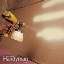 Paint Sprayer For Kitchen Cabinets by How To Use A Paint Sprayer Indoors Home Improvement Pinterest