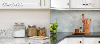 kitchen backsplash pictures cabinets standard vs kitchen backsplash which is right for you