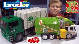 bruder garbage truck bruder u0026 dickie toys мусоровозы от игорька т with loop