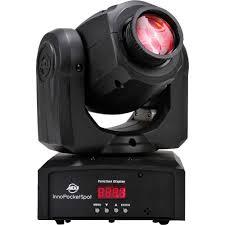 american dj led lights american dj inno pocket spot compact led moving head light black