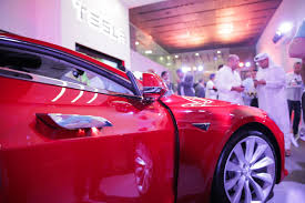 tesla dealership how the uae is revving up for an electric car revolution
