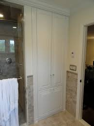 Linen Cabinet Doors Wonderful Artistic Amazing Of Bathroom Linen Cabinets On Closet