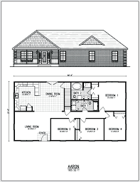 free simple house floor plans with measurements designs
