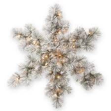 national tree company 32 in snowy bristle pine artificial