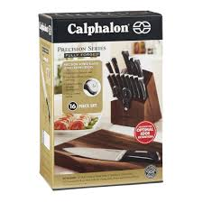 Must Have Kitchen Knives by Calphalon Precision Series 16 Pc Cutlery Set Calphalonusastore