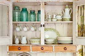 15 ideas for decorating above kitchen cabinets crates vintage