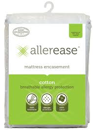allerease cotton allergy mattress encasement