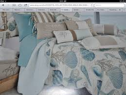 Beach Theme Quilt Gorgeous Seashell Bedding By Coastal Collection Bought It At