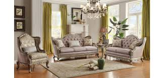 silver living room furniture homelegance 8412 fiorella silver living room set
