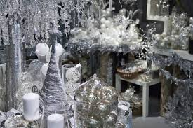 Christmas Decorations In White And Silver by White Christmas Decoration Free Stock Photo Public Domain Pictures