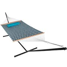Free Standing Hammock Walmart by Lazydaze Hammocks 15 Feet Heavy Duty Steel Hammock Stand Two