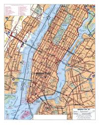 detailed map of new york new york city ny map within road nyc creatop me