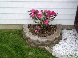 How To Build A Raised Flower Bed How To Build A Raised Bed With Retaining Wall Bricks Backyard