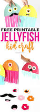 free printable jellyfish kid craft printable crush