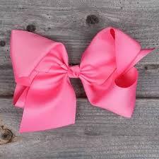 pink hair bow medium hair bow smocked auctions