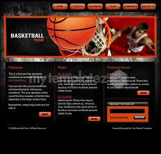 free templates css templates sport basketball