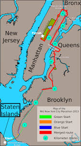 File Map Of New York File Map Of The Ing New York City Marathon 2013 Svg Wikimedia