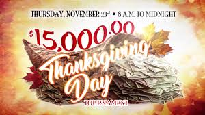 thanksgiving day tournament at dover downs hotel casino