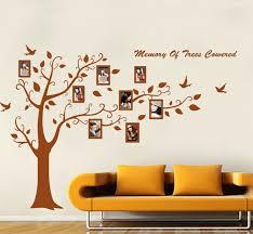 photo frame family tree removable pvc wall stickers the coffee photo frame family tree removable pvc wall stickers