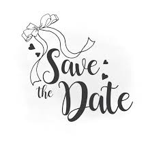 Save The Date Save The Date Svg Clipart Wedding Annuncment Save The Date