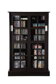 Oak Bookcases With Doors by Amazon Com Atlantic 94835721 Glass Door Cab Espresso Kitchen