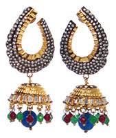 jhumka earrings uk indian jhumka earrings uk usa worldwide indian jewellery store