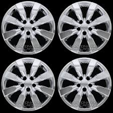 nissan sentra hubcaps 2016 4 new chrome 2009 2016 corolla 16