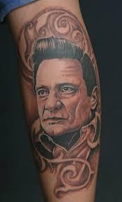 tattoo johnny cash portrait by catbones on deviantart
