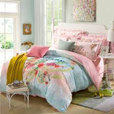 blue striped pretty funky 100 cotton teen bedding sets