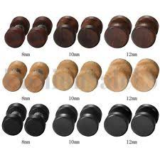 wood stud earrings wooden stud fashion earrings ebay