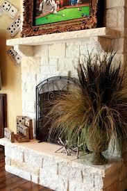 Fireplace Decor Best 25 Stone Fireplace Decor Ideas On Pinterest Fire Place