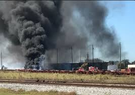 tires black friday that black smoke east of tampa burning tires tampa bay times