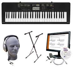 piano keyboard with light up keys casio portable keyboard with 61 piano style keys black cas ctk2400