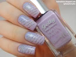the little canvas lilac nail art nail art tutorial 80 glitter