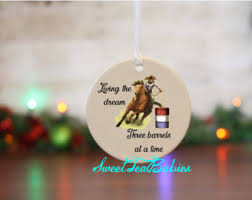 Western Christmas Decorations Wholesale by Horse Ornament Etsy