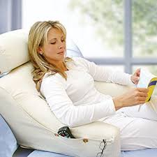 headrest pillow for bed bedlounge your personal recliner pillow with a headrest and arms