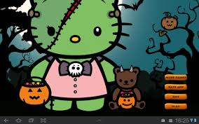 awesome halloween backgrounds cute hello kitty halloween backgrounds imagen cute owl fondos de