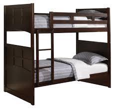 American Woodcrafters Bunk Beds Jasper Youth Twin Bunk Bed In Cappuccino 460136