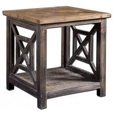 Real Wood Dining Room Furniture Reedbuild Furniture End Tables Solid Oak End Tables
