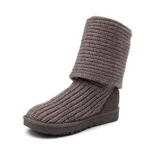 s cardy ugg boots grey womens ugg cardy knit boot gray 581686