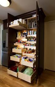 cabinet kitchen cabinets pull out pantry build pull out