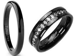 black wedding band black wedding bands for women choozone