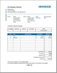 interior design invoice template for excel excel invoice templates