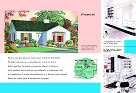 1950 S House by 1940s And 50s House Plans Birchwood Houses And Floor Plans Of
