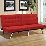 amazon com red futons living room furniture home u0026 kitchen