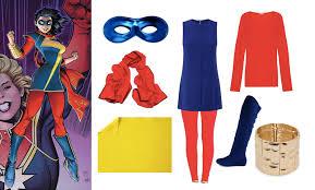 Ms Marvel Halloween Costume Easy Kamala Khan Ms Marvel Halloween Costume