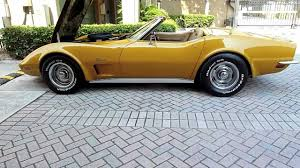 1972 corvette stingray 454 for sale 1973 corvette convertible 454 4 speed ac all matching numbers