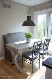 Table For Banquette Breakfast Nooks Kitchen Bench Seats Banquettes Driven By Decor