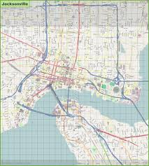 Map Of Jacksonville Florida by Jacksonville Maps Florida U S Maps Of Jacksonville