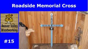 memorial crosses for roadside roadside memorial cross 15
